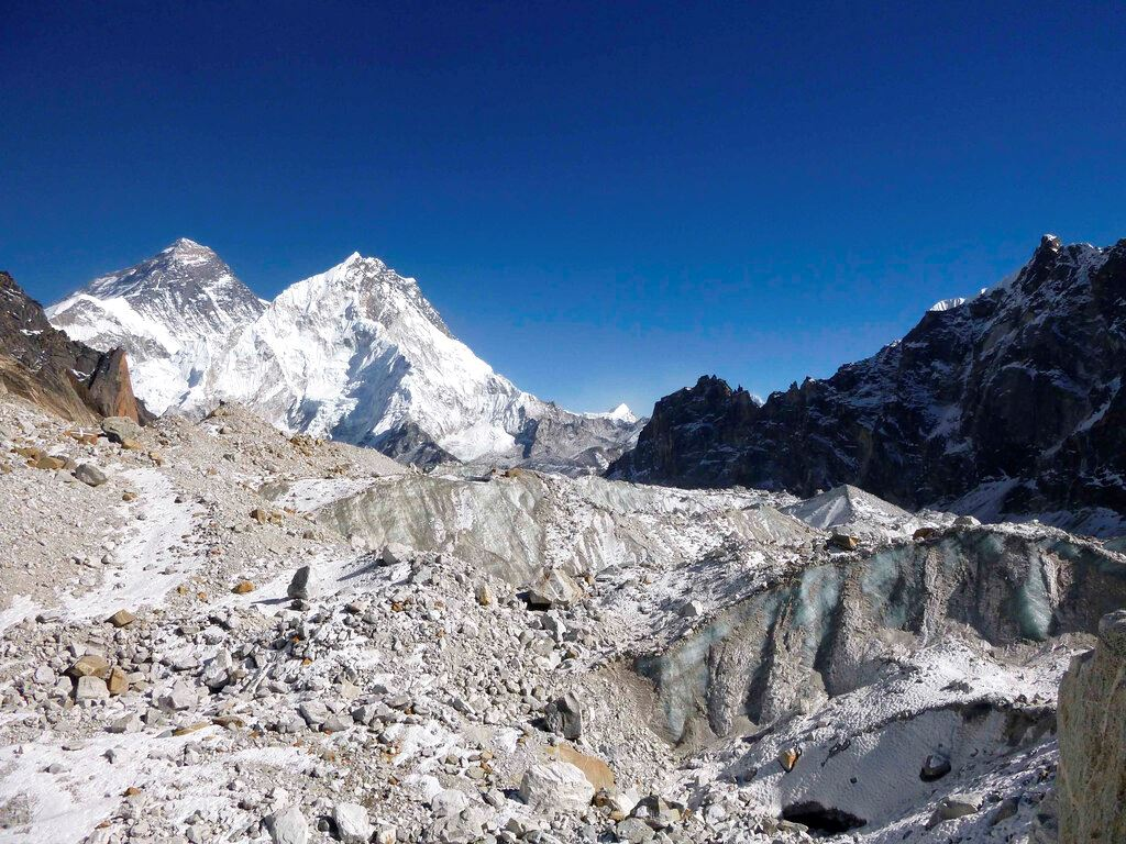 Picture of Old spy images reveal Himalayan glaciers are melting fast