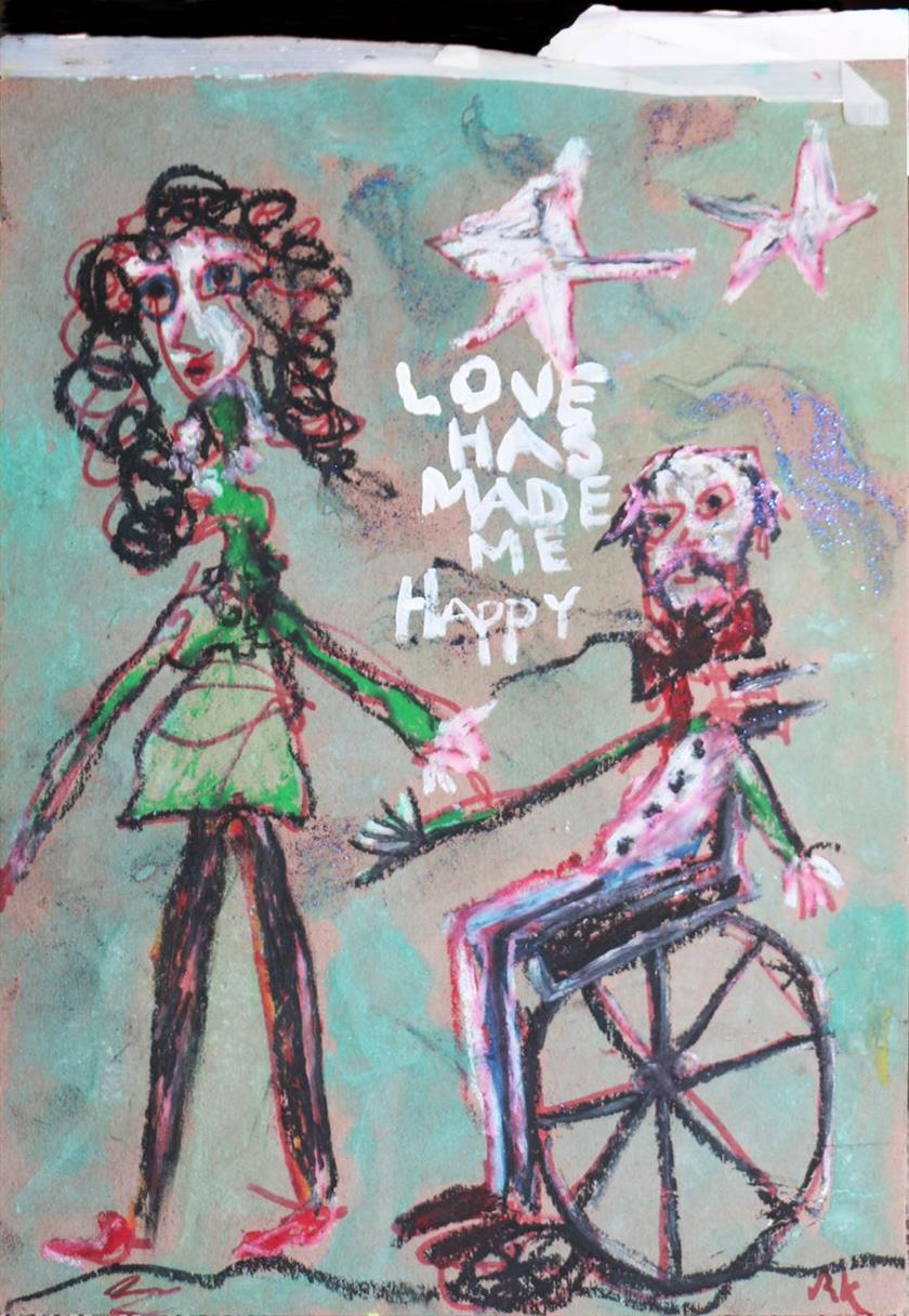 Picture of Love Has Made Me Happy by Ron Kovic