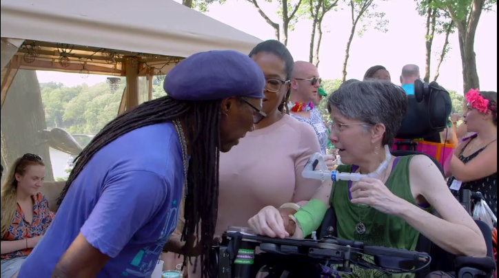 Picture of Oprah's Surprise Visit to Jeni Stepanek
