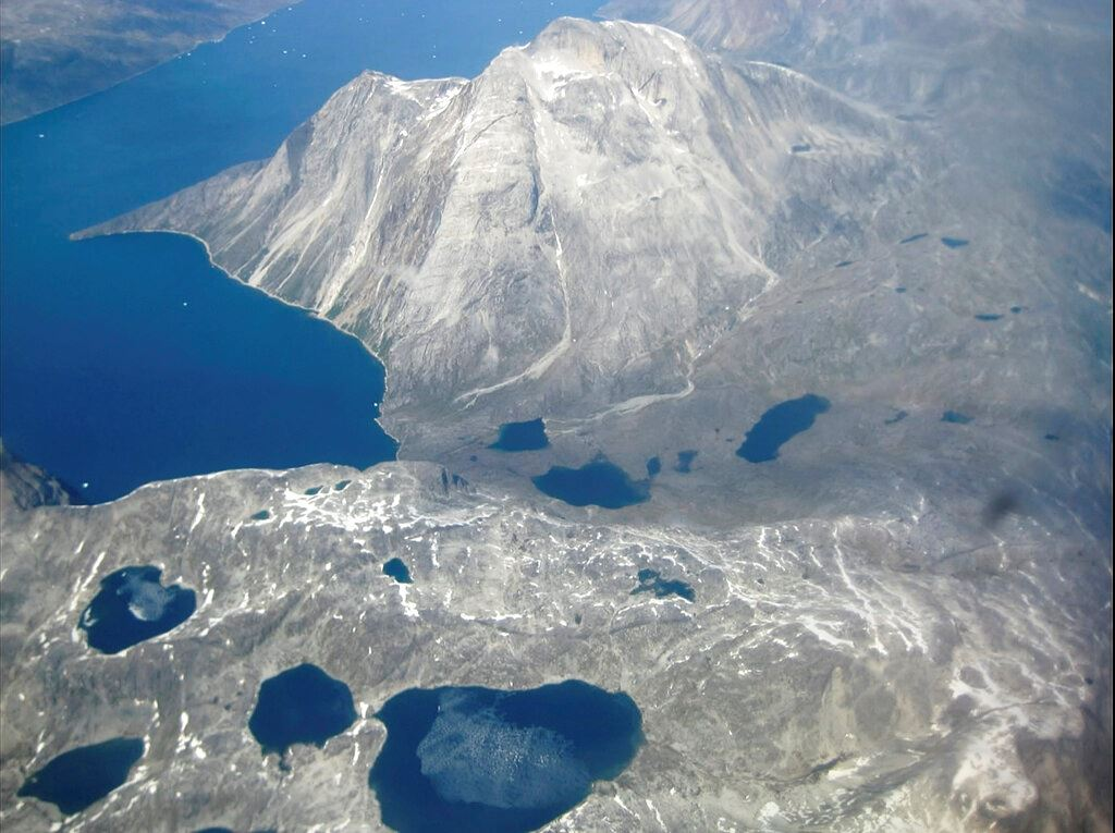 Picture of Walloped by heat wave, Greenland sees massive ice melt