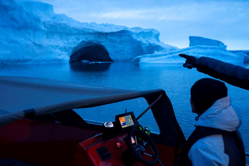 Picture of Earth's future is being written in fast-melting Greenland