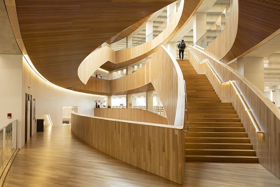 Picture of The hottest ticket in Canada: A noisy library with much more than books