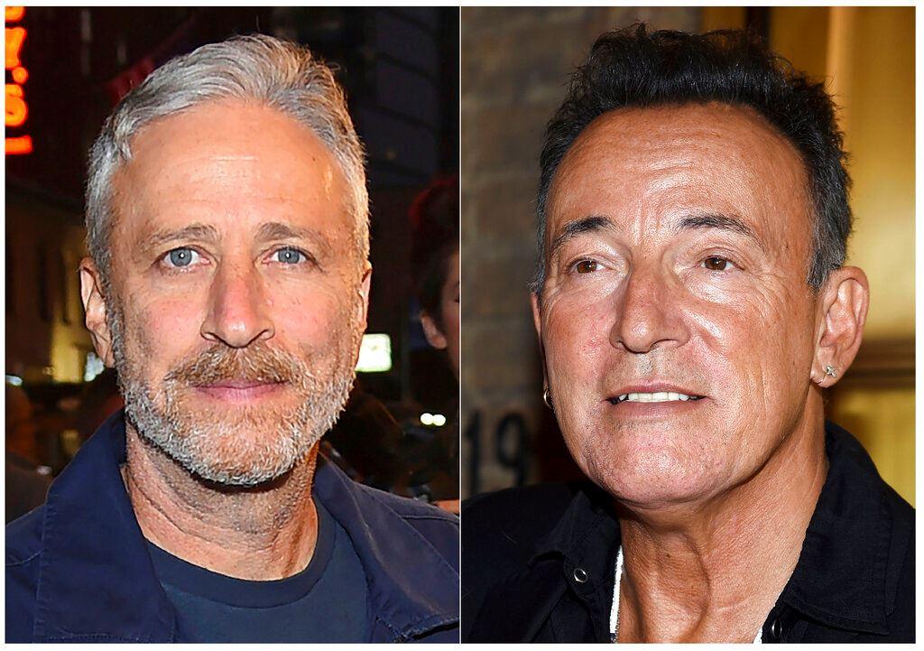 Picture of Bruce Springsteen, Jon Stewart headline veterans' fundraiser