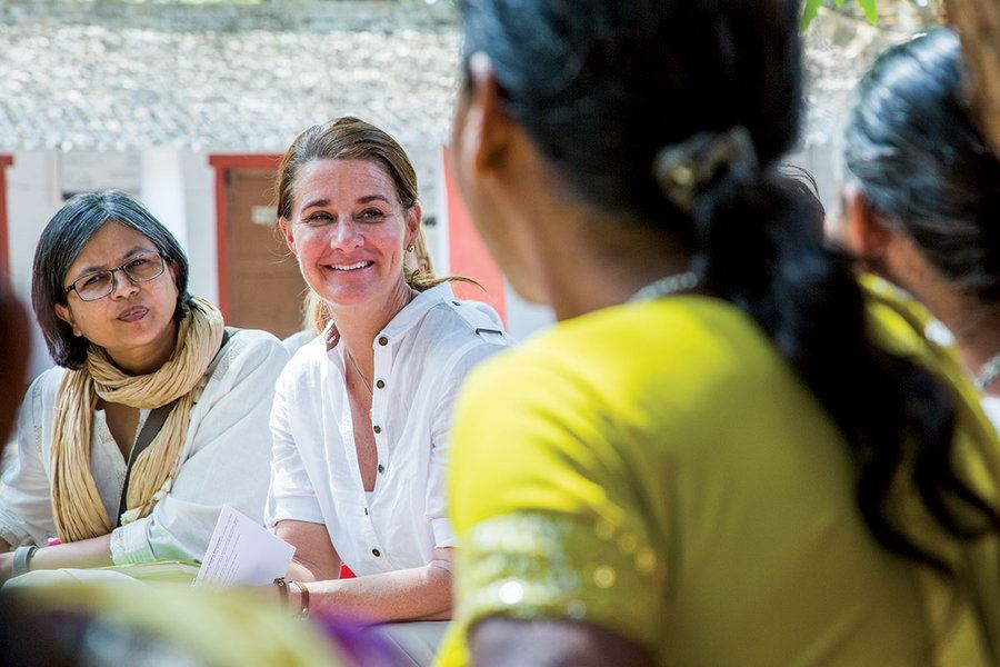 Picture of Melinda Gates: What she's learned