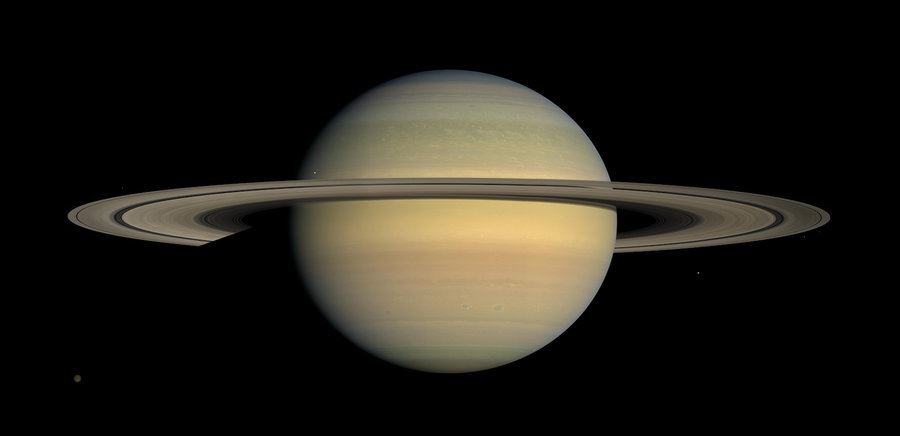 Picture of New 'moon king': Saturn passes Jupiter with 20-moon discovery