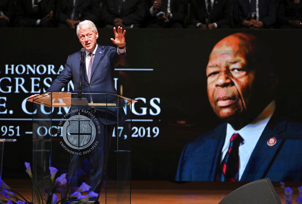 Picture of Cummings remembered as 'fierce champion' at funeral