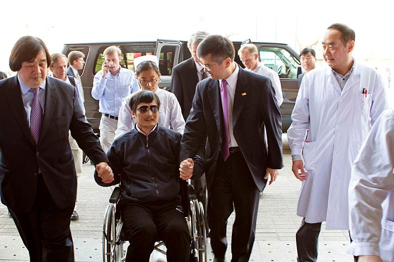 Picture of Chen Guangcheng