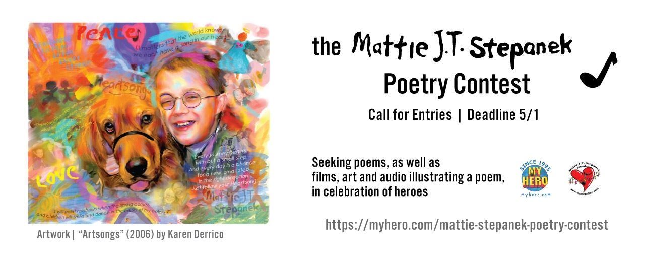 Picture of CALL FOR ENTRIES: MATTIE J.T. STEPANEK POETRY PRIZE 2020