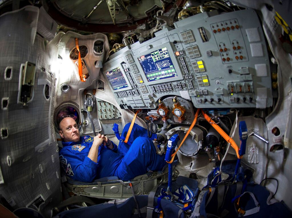 Picture of Going stir crazy? Then train like an astronaut, mimic space