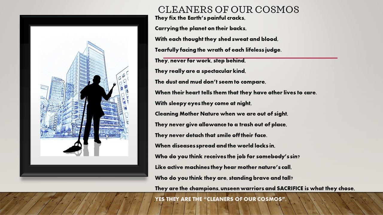 Picture of CLEANERS OF OUR COSMOS