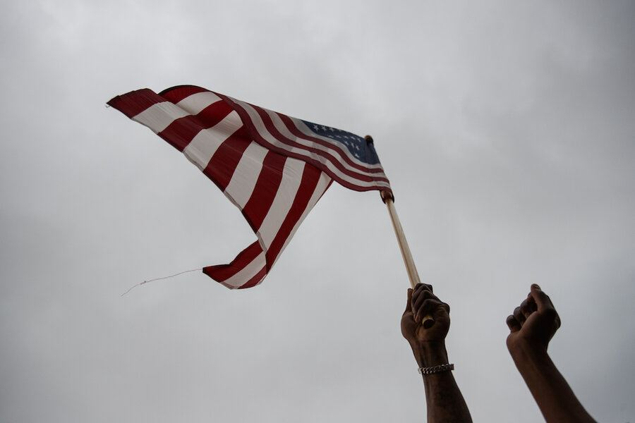 Picture of On Independence Day, Black Americans see hope of a larger patriotism