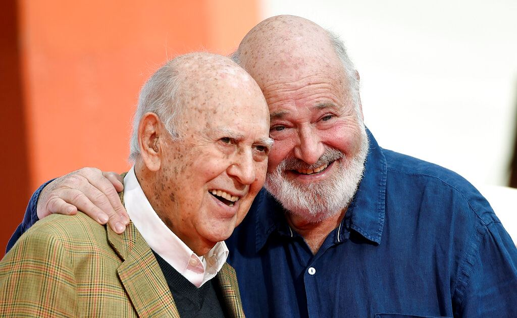 Picture of Carl Reiner, beloved creator of 'Dick Van Dyke Show,' dies