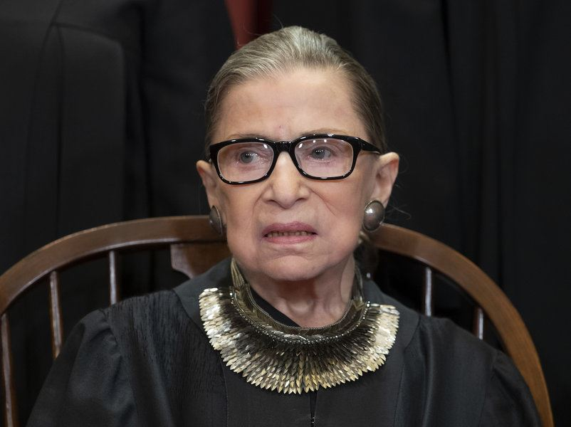 Picture of Ruth Bader Ginsburg: Fierce women's advocate, and icon in her own right