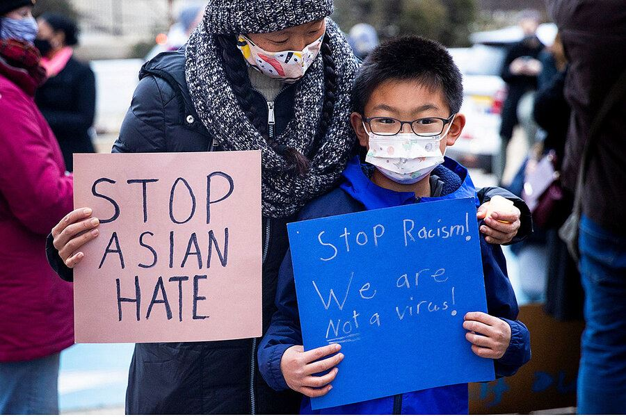 Picture of America's diverse Asian communities unite against hate