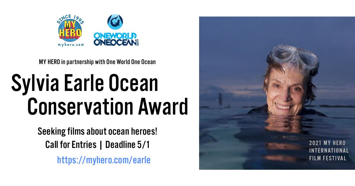 Picture of CALL FOR ENTRIES – 2021 SYLVIA EARLE OCEAN CONSERVATION AWARD