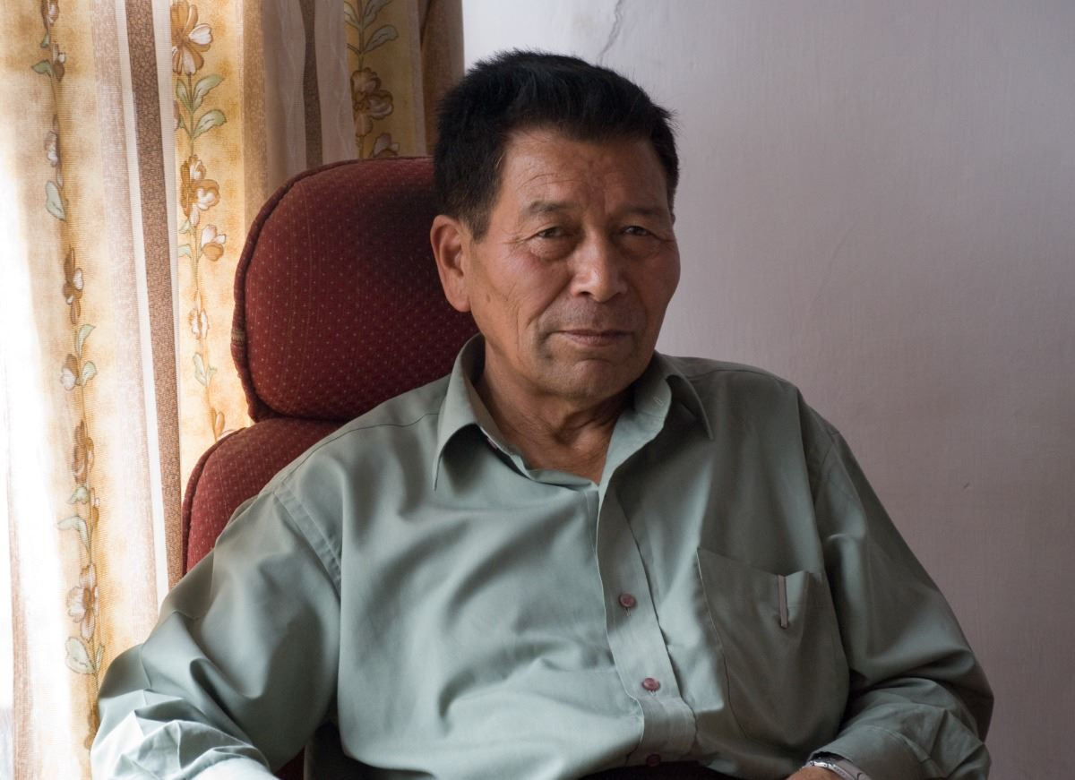 Picture of Chewang Norphel - The Ice Man of India