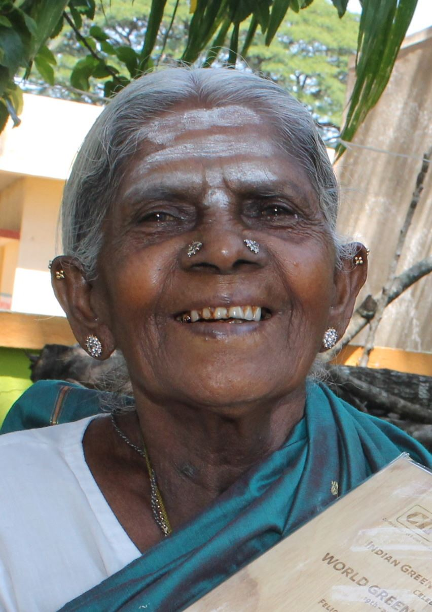 Picture of Saalumarada Thimmakka