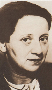 Photo of Friedl Dicker-Brandeis<br>http://dominique03.over-blog.com/article-35799391.html