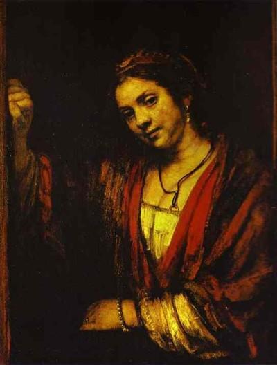 """Portrait of Hendrickje at the Window"" 1656-1657"
