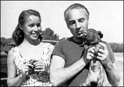 Maria and her husband, George Balanchine