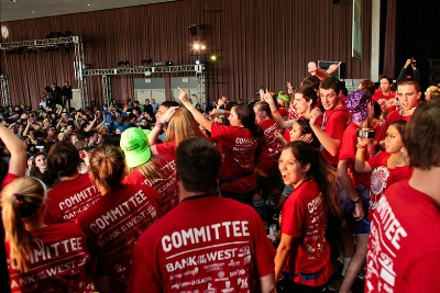 For committee members, Dance Marathon marks the culmination of a year's worth of organizing and fundraising.