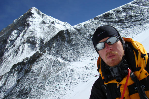'When Graham Kinch and I decided to climb [Mt.] Everest, we decided to we wanted to do it for something greater than ourselves,' says Ian Taylor, a professional mountaineer who funds a primary school in Uganda through his trekking business.  <P>Courtesy of Ian Taylor Trekking