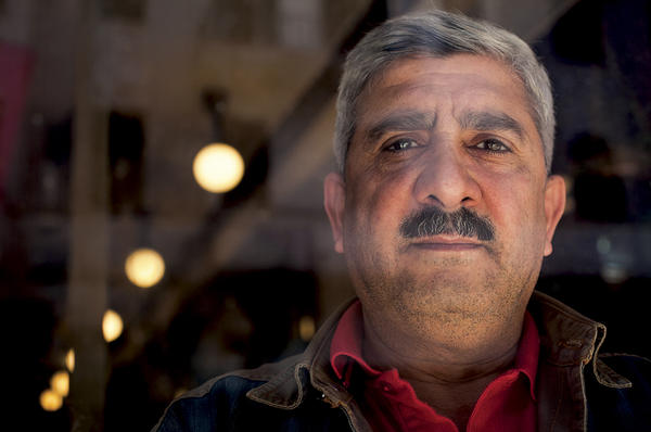 Hamdy al-Azazy founded the New Generation Foundation for Human Rights in Egypt after learning of the hardships and vulnerabilities of African refugees trying to reach the Israeli border.  <P>Amanda Mustard/Special to The Christian Science Monitor