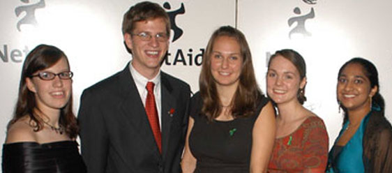 Net Aid 2005 Global Action Awards Honorees