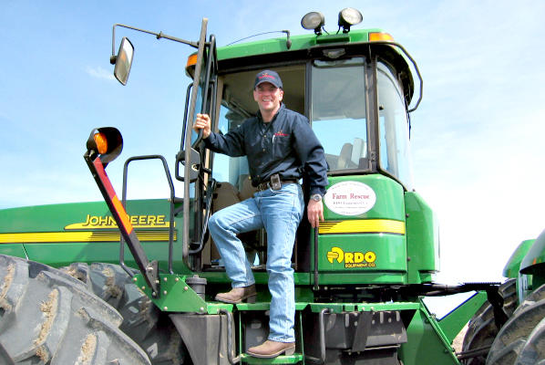 'We are helping to make it more likely for future generations of family farms to be able to continue,' says Bill Gross, founder of Farm Rescue. 'That is what I actually find the most satisfying.'    <P>Courtesy of Farm Rescue