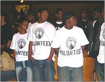 Team Revolution Volunteers