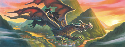 Harry Potter and the Deathly Hallows <br>(http://www.scholastic.com/harrypotter/books/covers/art7deluxe.htm)