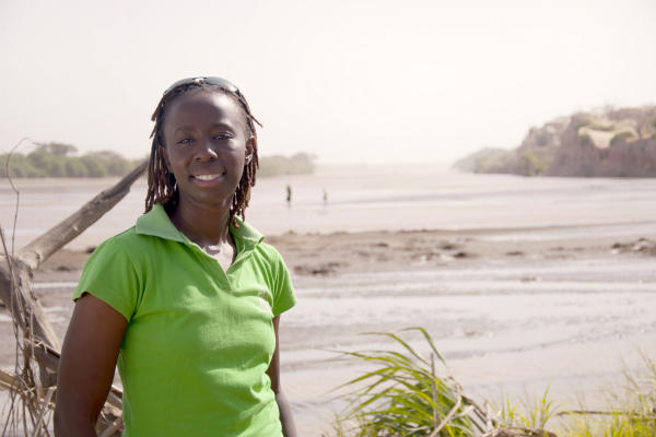 When Ikal Angelei learned that a hydroelectric dam under way in Ethiopia would drop the level of Lake Turkana by 33 feet, destroying fish stocks and increasing conflict over scare resources, she founded the Friends of Lake Turkana, which is demanding a full environmental review.  <P>Courtesy of The Goldman Environmental Prize