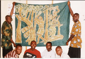 """The Sierra Leone team conducted their own Conference """"YouthCaN 2002"""" in Freetown, Sierra Leone on April 29th. <br><br>"""