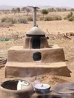 An outdoor mogogo.