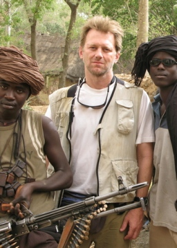 <i>Darfur Now</i> director Ted Braun<br> Image courtesy of Warner Independent Pictures.<br>