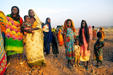 A scene from Ted Braun's <i>Darfur Now</i><br>Photo credit: Lynsey Addario<br>Courtesy of Warner Independent Pictures