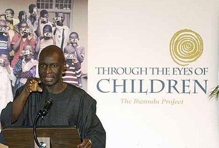 Olara Otunnu speaking about the Rwanda Project