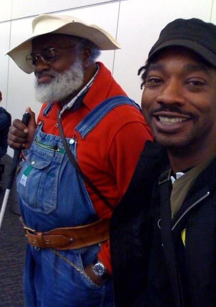 Grandpa Elliot and friend