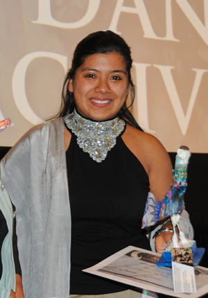 Erica Fernandez organized efforts to save her community from a serious environmental threat.