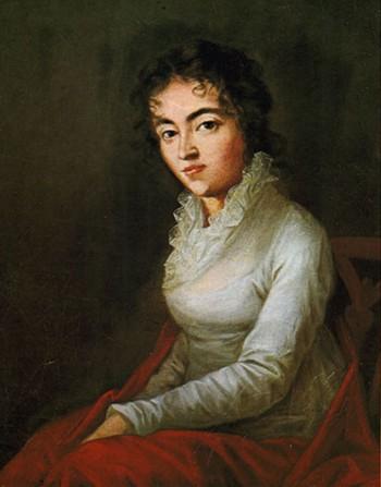 Constanze Mozart <br>(http://www.mozartforum.com/images/Costanze_Mozart_by_Lange_1782.jpg)
