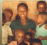 Immaculee and children