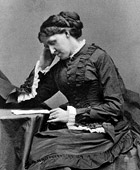 <a href=http://www.famouspoetsandpoems.com/pictures/middle/louisa_may_alcott.jpg>Louisa at her desk</a>