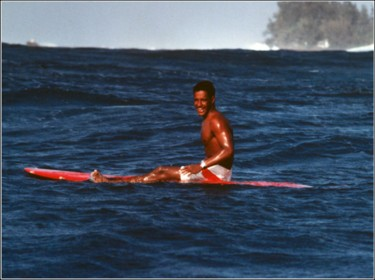 <a href=http://www.eddieaikaufoundation.org/p02.htm>Eddie</a> doing what he loved best