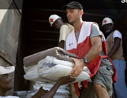 The Red Cross Brings Supplies and Support