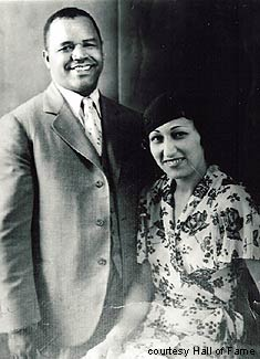 Effa Manley, with her husband, Abe. <br>(http://www.mlb.com/NASApp/mlb/mlb/history/<br>mlb_negro_leagues_story.jsp?story=effa_manley)