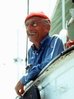 Jacques Cousteau <br>(www.geol.sc.edu/cbnelson/ScienceWeb/TeamWebsites/Spring2006/AquaFresh/webpages/JacquesCousteau1.jpg)