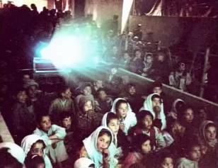 Film Aid Brings Outdoor Movies to Kabul, Afghanistan