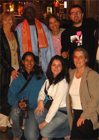 <center>Geeta with MY HERO staff and Global Exchange Partners</center>
