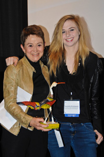 "Dean Elizabeth Daley with Cassandra Brooksbank, Director of ""Tribute to Dean Elizabeth Daley ""."