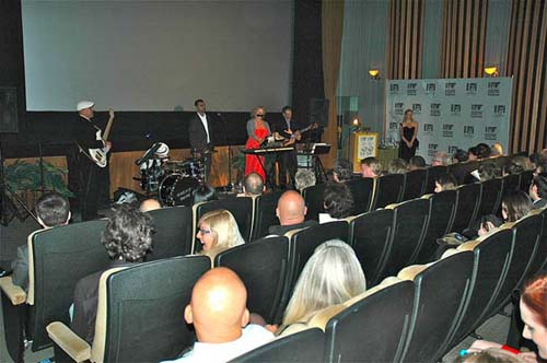 The audience at the IFFF enjoys some musical entertainment. <P>Photos Courtesy of IFFF